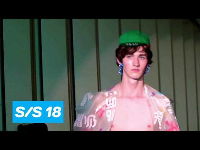 Angus Chiang Spring Summer 2018 PFW Paris Prêt à porter Homme