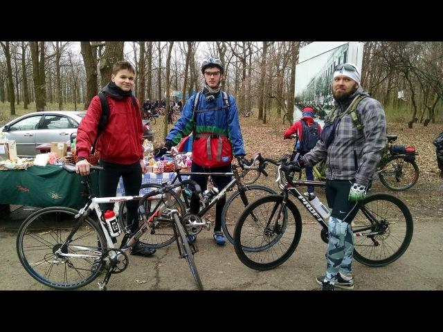 Одесская велосотка 100км по поясу славы 08 04 17