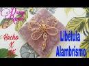 Libélula en Alambrismo Dragonfly DIY