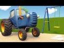 Развивающие мультики про машинки Синий Трактор Гоша - Все серии - Учимся считат ...