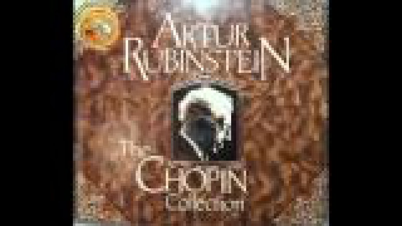 Arthur Rubinstein - Chopin Minute Waltz Op. 64 No. 1 in D flat