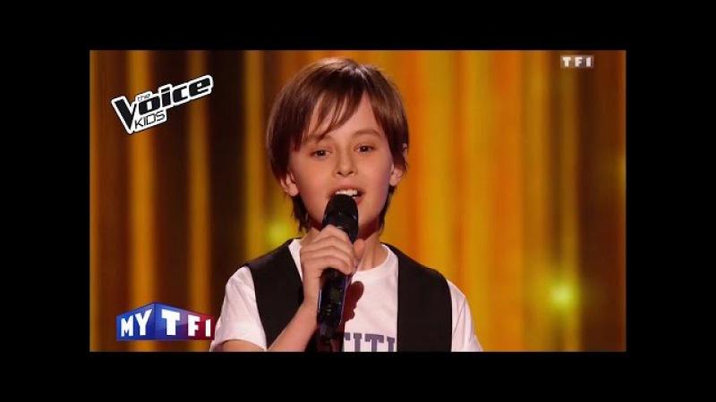The Voice Kids 2016 Nans Je veux Zaz Blind Audition