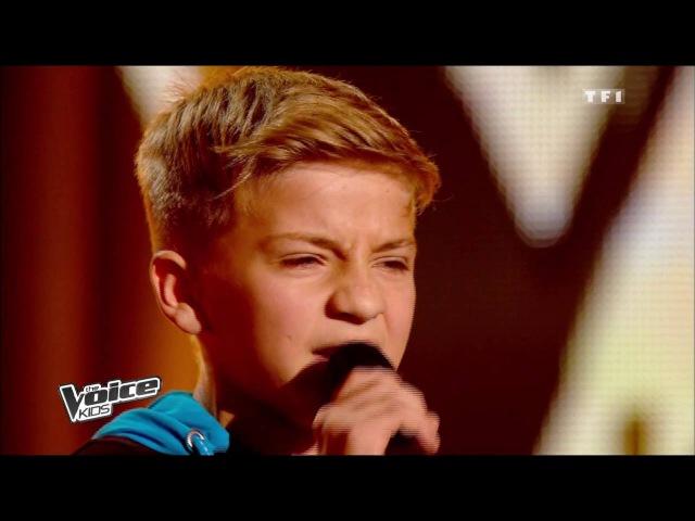 Calogero – Si Seulement Je Pouvais Lui Manquer | Mattéo | The Voice Kids 2014 | Blind Audition