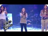 Katy Perry - Unconditionally (Julia, Caitlin, Selin)  The Voice Kids 2014  BATTLE  SAT.1