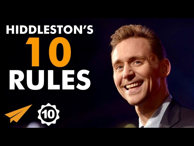 There's NO TIME For Doubt Or Failure! - Tom Hiddleston (@twhiddleston) - Top 10 Rules