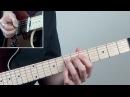 Easy Minor Pentatonic Scale Guitar Lesson