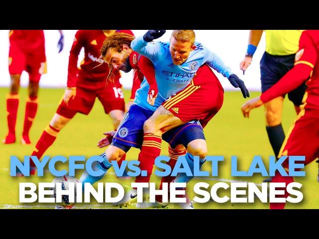 BEHIND THE SCENES   Real Salt Lake vs. New York City   17.5.17