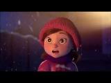Лили и Снеговик  Lily &amp the Snowman (2015) Короткометражный мультик
