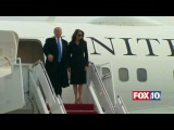 MAJOR MOMENT Donald Trump &amp Family Exit Official White House Plane, Arrive in D.C. for Inauguration