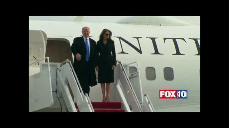 MAJOR MOMENT: Donald Trump Family Exit Official White House Plane, Arrive in D.C. for Inauguration
