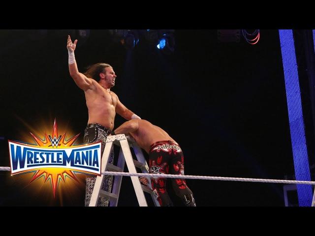 Fatal 4-Way Raw Tag Team Title Ladder Match: WrestleMania 33 (WWE Network)