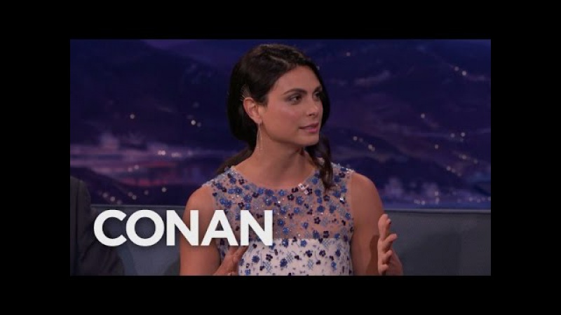 Morena Baccarin's 3 Year Old Son Is Fascinated With The Human Form CONAN on TBS