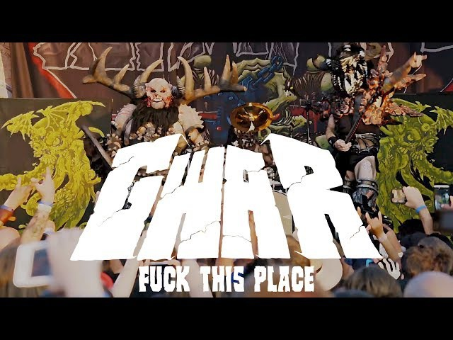 GWAR - Fuck This Place (Live)