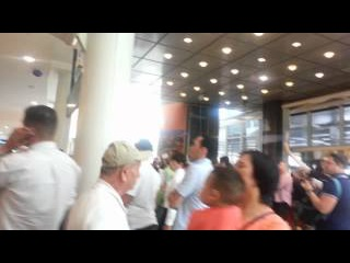 Вы прилетели в Нью-Йорк. Аэропорт Кеннеди. JFK. Терминал № 1.