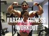 Artak_Fitness & Aleksandra_rim #BeautyAndTheBeast Workout