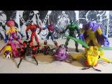 Человек-Паук 1994. 14 волна. Распаковка и обзор фигурок (игрушек) фирмы Toy Biz. Марвел