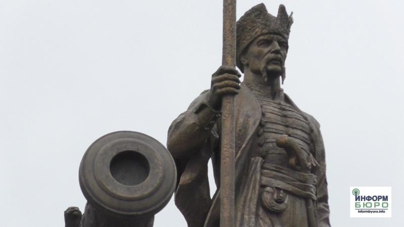 В Харькове открыли памятник атаману Ивану Сирко