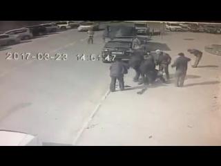 Жесть! В Улан-Удэ машина сбила трех человек