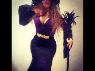 Halloween sexy Sheytan Gunel