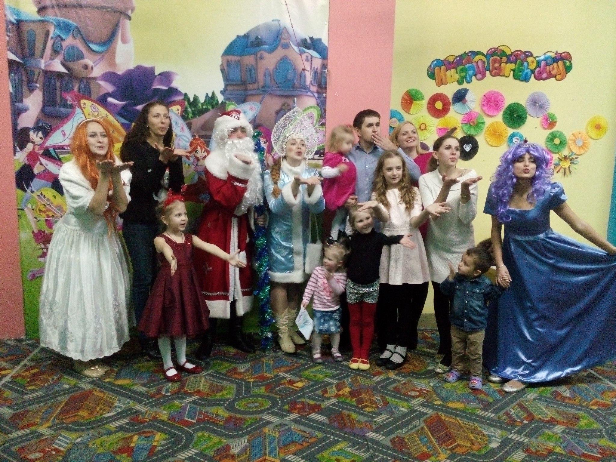 аниматоры детские принцессы феи дед мороз и снегурочка запорожье