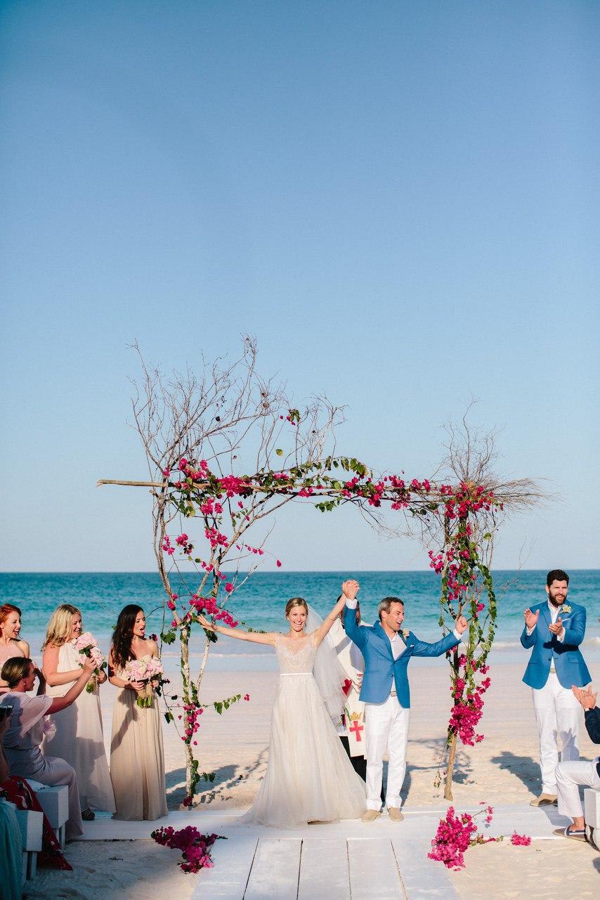 dhPhhQO89y4 - Предыстория красивейшей свадьбы на пляже (32 фото)