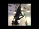 Утренняя гимнастика на гамаках