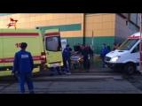 14 человек пострадали во время пожара в торговом центре на северо-востоке Москвы