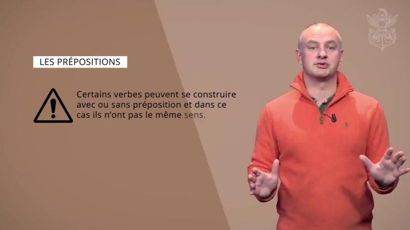 Les prépositions 2 - École Polytechnique Coursera