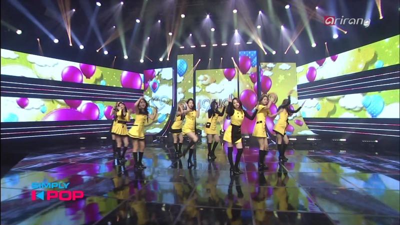 Gugudаn - Simрly's Рiсk А Girl Likе Mе (Simрly K-РОР 2017.04.07)