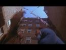 Человек-Паук (2002) - Первый полёт на паутинеСцена на крыше