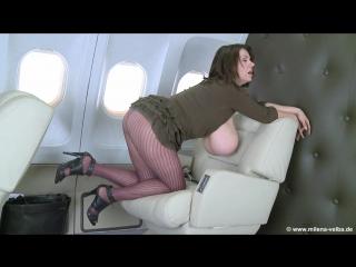 Milena Velba above clouds ( milf milk wet pussy big tits oil busty suck cock blowjob brazzers kink porn горячая мамка модель )