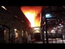 Пожар на лондонском рынке