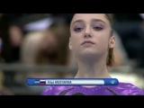 ЧМ 2010. Индивидуальное многоборье. Алия Мустафина - вольные упражнения