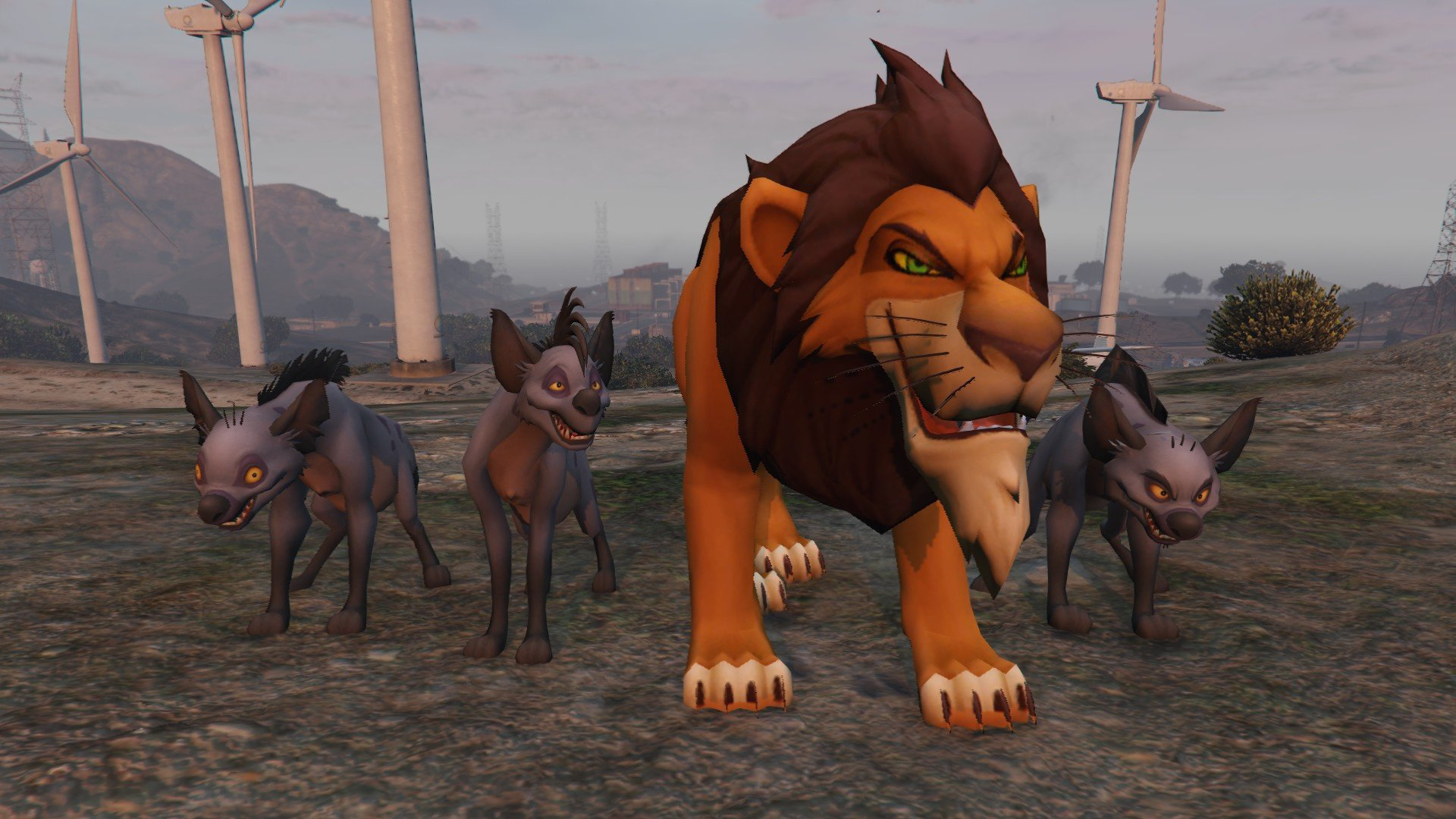 The Lion King Pack для GTA V - Скриншот 2