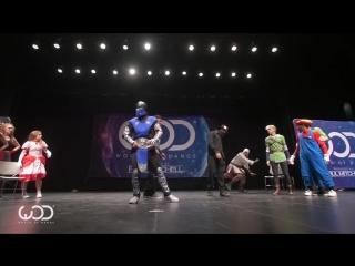 Танцевальный батл игровых персонажей