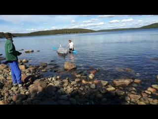 Смертельный номер! Егор пересекает Белое море на самодельном каяке.