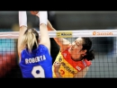 Top 15 BEST Volleyball Spikes by Zhu Ting 朱婷 - 2017 Womens World Grand Champions Cup