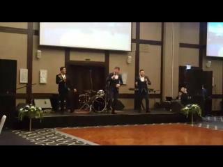 выступление группы КАРАВАН для почетных гостей республики в гостинице Шератон Эльмир Абубакиров, Марсель Кутуев