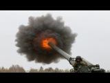 Monstrous Ukrainian Artillery Action During Heavy Live Fire Combat Training 2S7 Pion, Msta-B, D-20