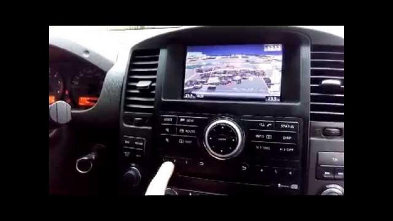 Nissan Navara D40 (2006-08) - установка оригинальной системы 2015 года (USB,AUX, MAP)