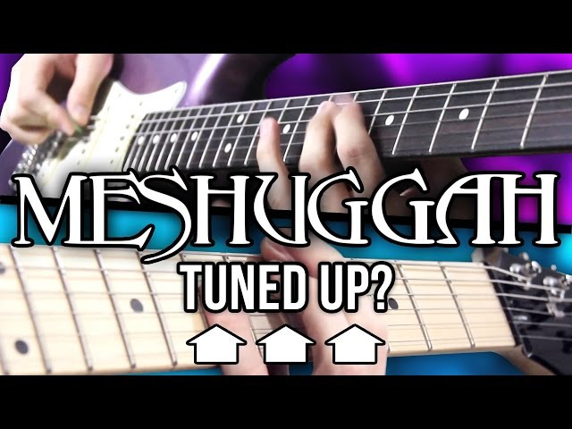 What If MESHUGGAH Tuned Up? | Pete Cottrell (ft. Andrew Baena)