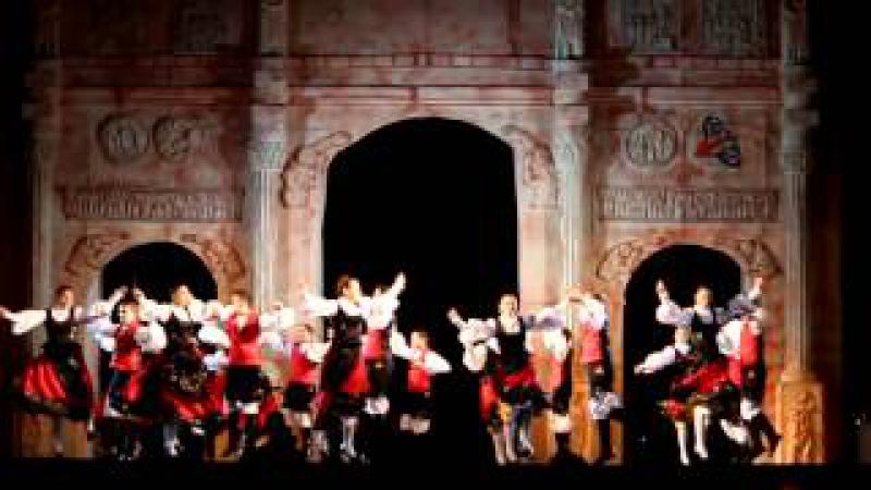 XXXIII Festival Internacional de Danzas .Galicia grupo Semente Nova, ganador del festival