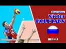 TOP 15 Volleyball Spikes by Victor Poletaev (RUS) | Vertical Jump 365 cm