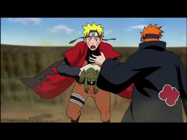Naruto vs Pain full fight amv Skillet
