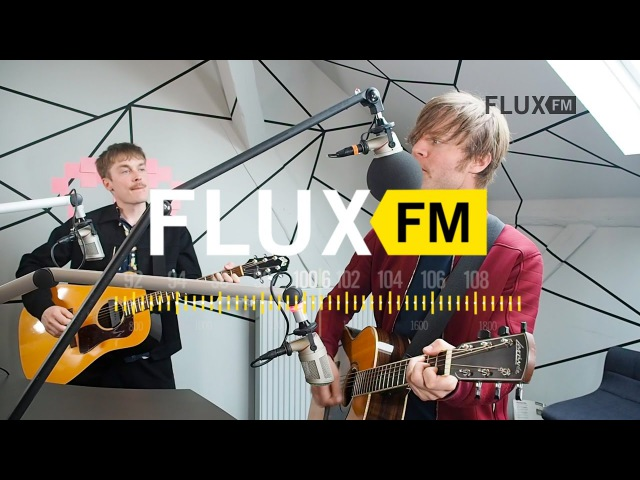 Mando Diao Watch Me Now live @FluxFM