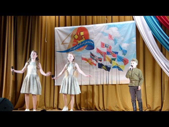 Мы, друзья,перелётные птицы- Анна Заболотникова, Лера Никитина, Георгий Киселёв