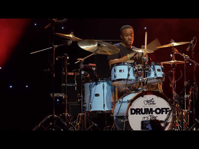 Anthony Burns Guitar Center's 28th Annual Drum Off Finalist