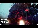 GODZILLA MONSTER PLANET Trailer 2017 Japanese Anime Movie