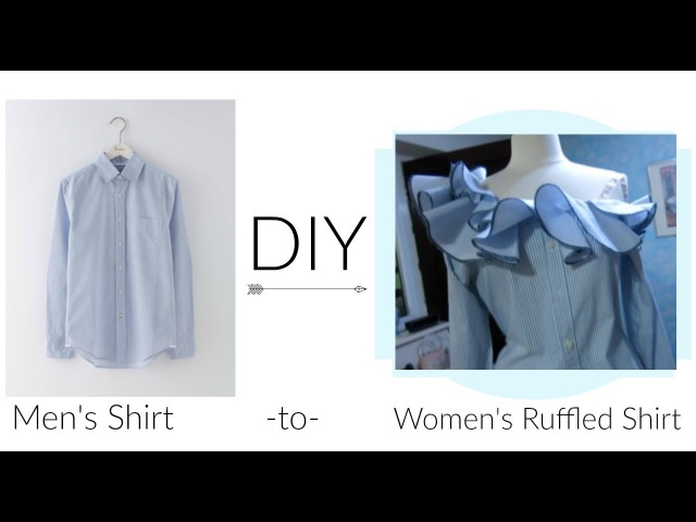 DIY Ruffled Shirt