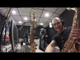 3 part - Syntheticsax on the radio station Megapolis FM Moscow - Live set